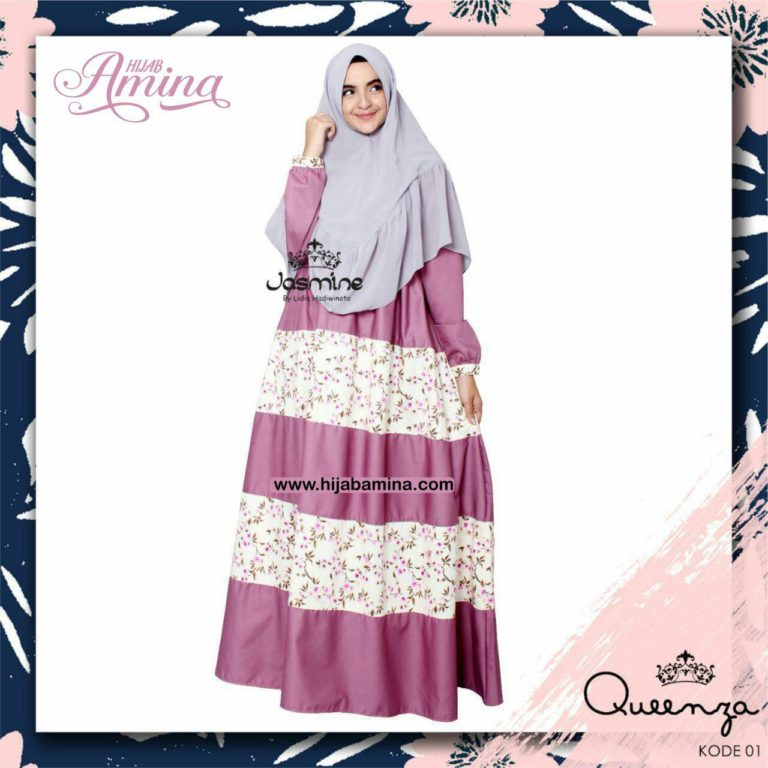 QUEENZA DRESS-01 DUSTY PINK