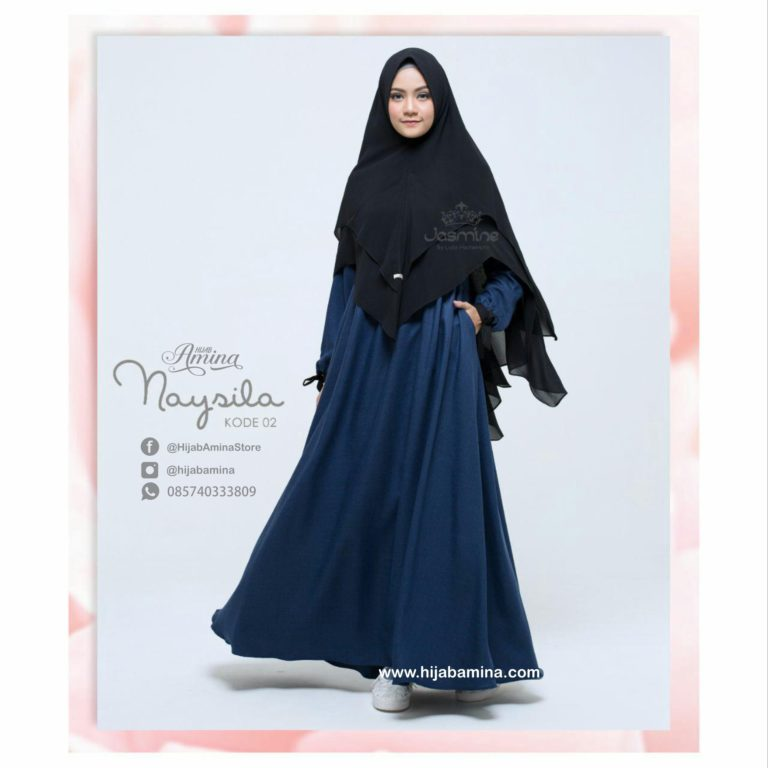 NAYSILA DRESS 02 – NAVY
