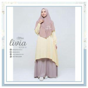 livia 1 - hijab amina - gamis jasmine