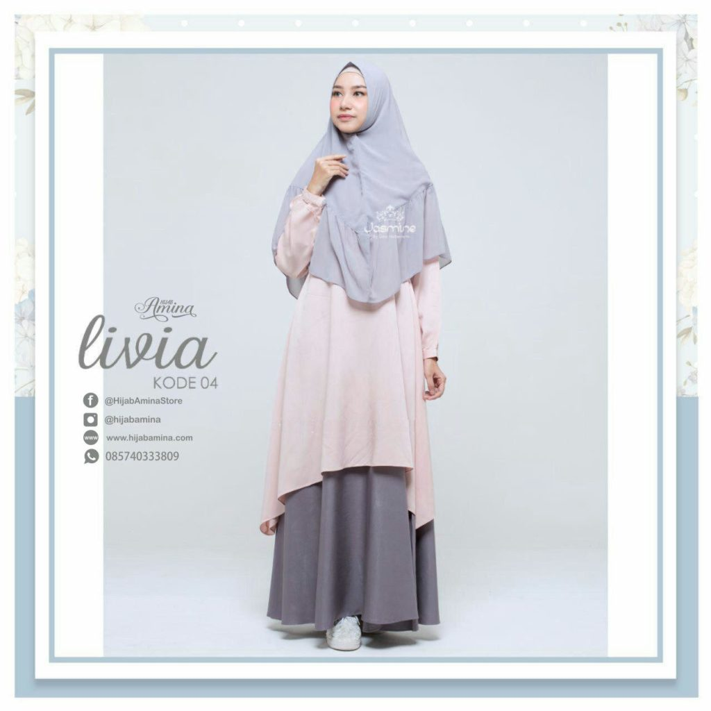 Livia Dress Faded Pink – Old Grey
