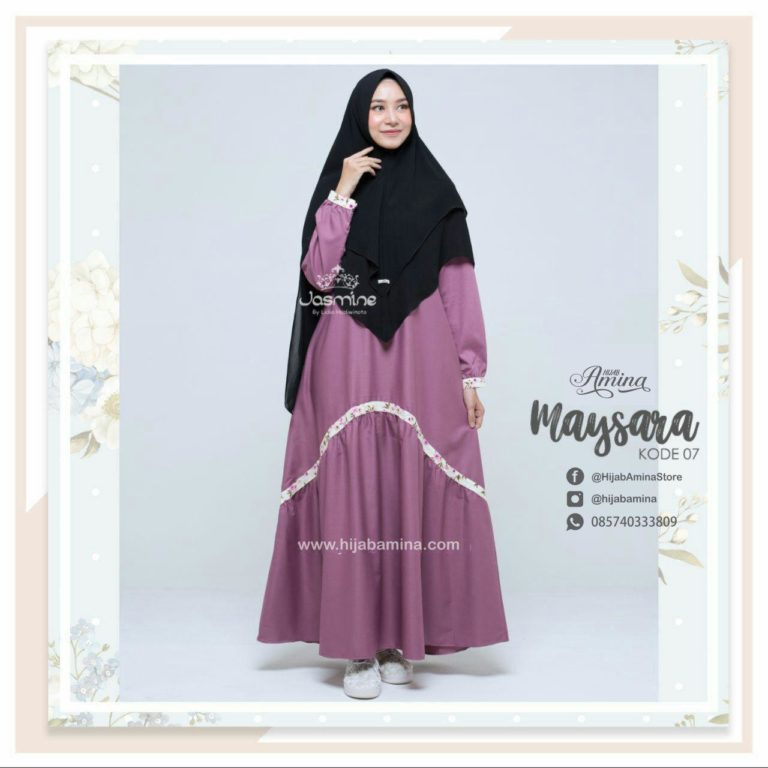 MAYSARA DRESS – DUSTY PINK