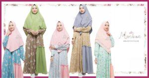10 gamis terbaru hijab amina