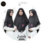 KHIMAR LATIFA – BLACK