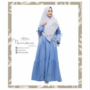 NAMEERA DRESS KODE 01 HIJAB AMINA.,