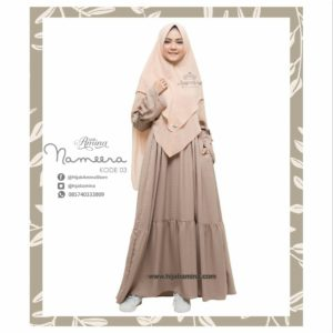 NAMEERA DRESS KODE 03 HIJAB AMINA