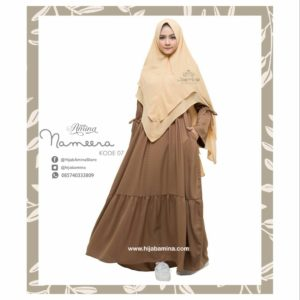 NAMEERA DRESS KODE 07 HIJAB AMINA.
