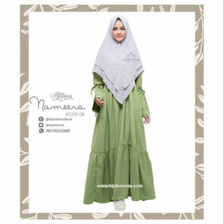 NAMEERA DRESS KODE 08 – HIJAU