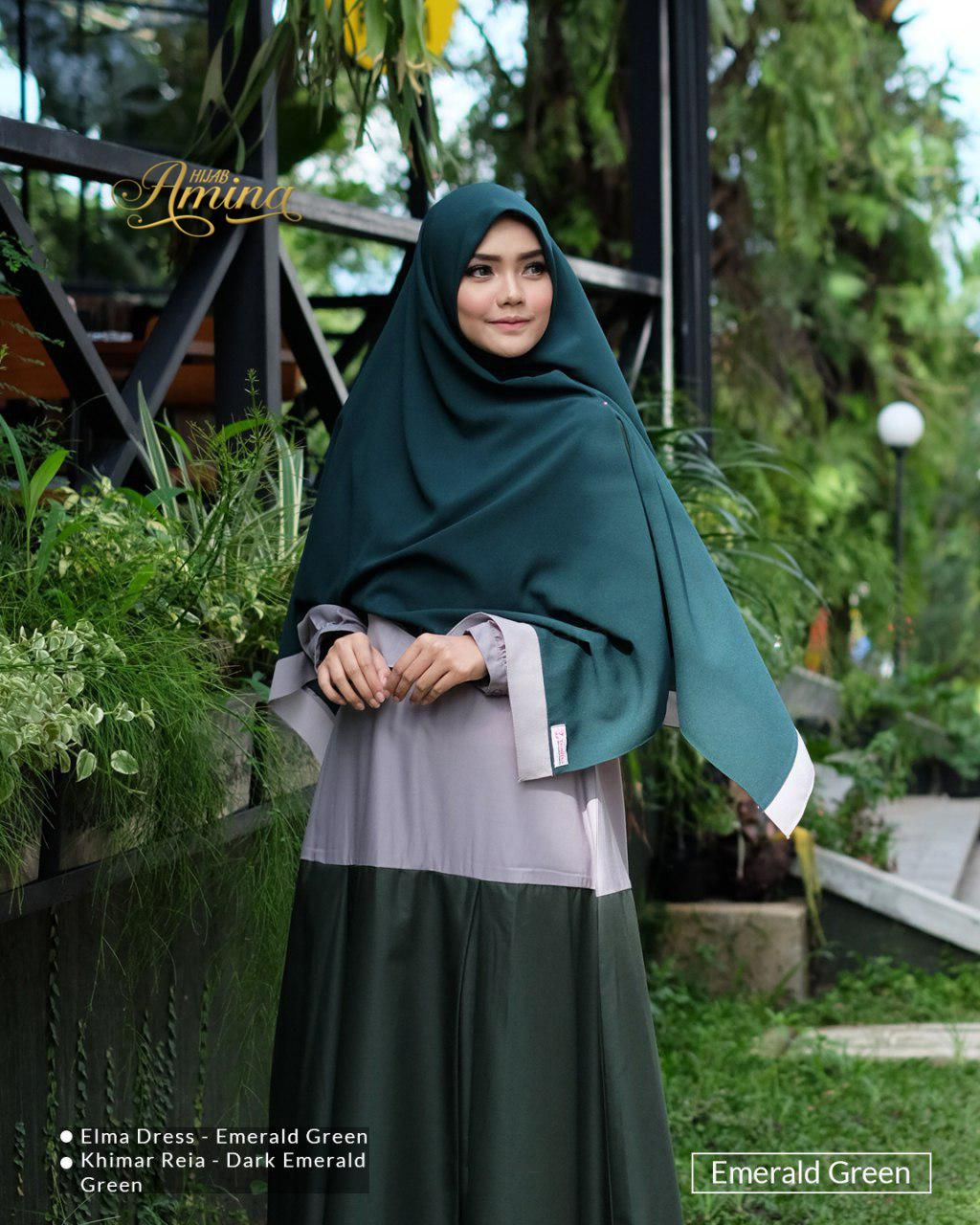 Elma Dress – Emerald Green