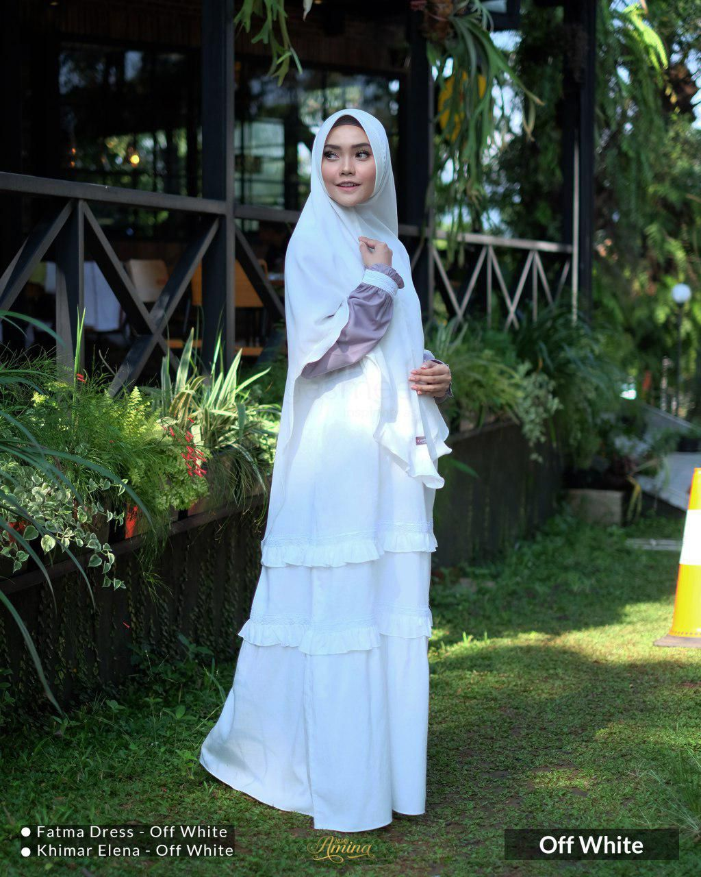 Fatma Dress – Off White