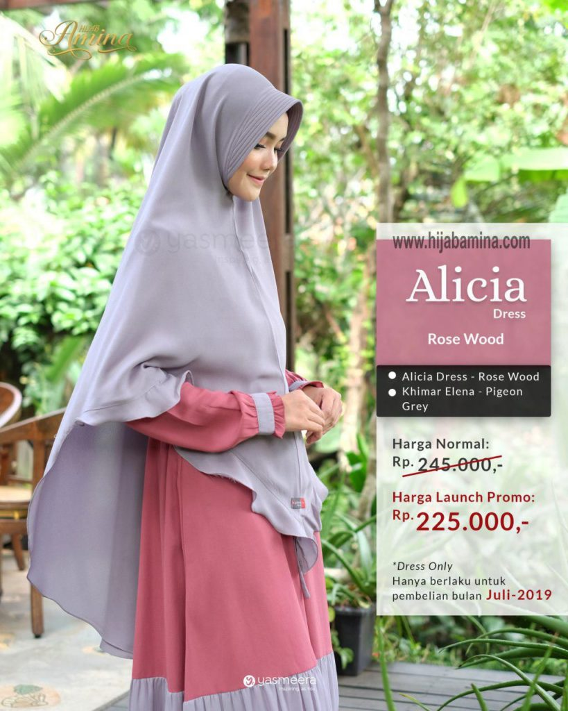Alicia Dress – Rose Wood