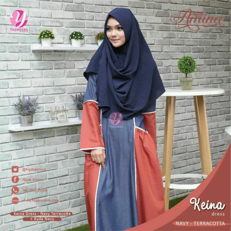 KEINA DRESS – TERACOTTA