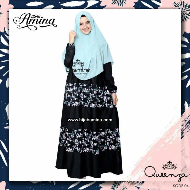 QUEENZA DRESS-04 BLACK