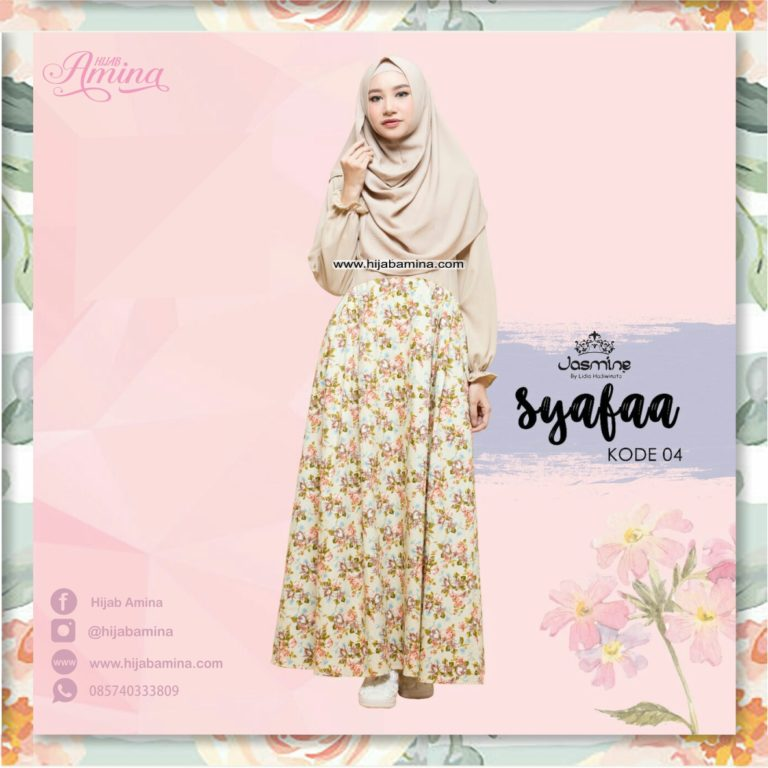 SYAFAA DRESS – CREAM