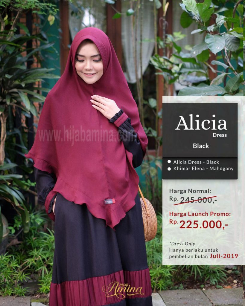 Alicia Dress – Black