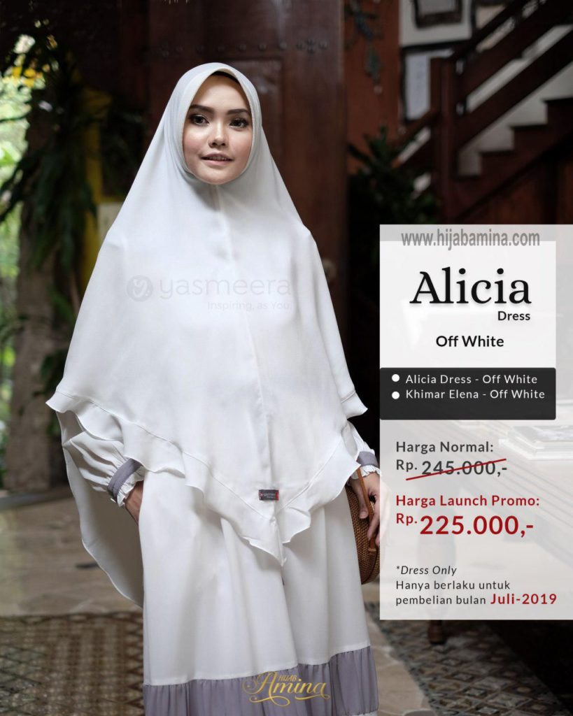 Alicia Dress – Off White